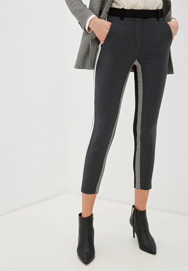 женские классические брюки barbara bui, серые