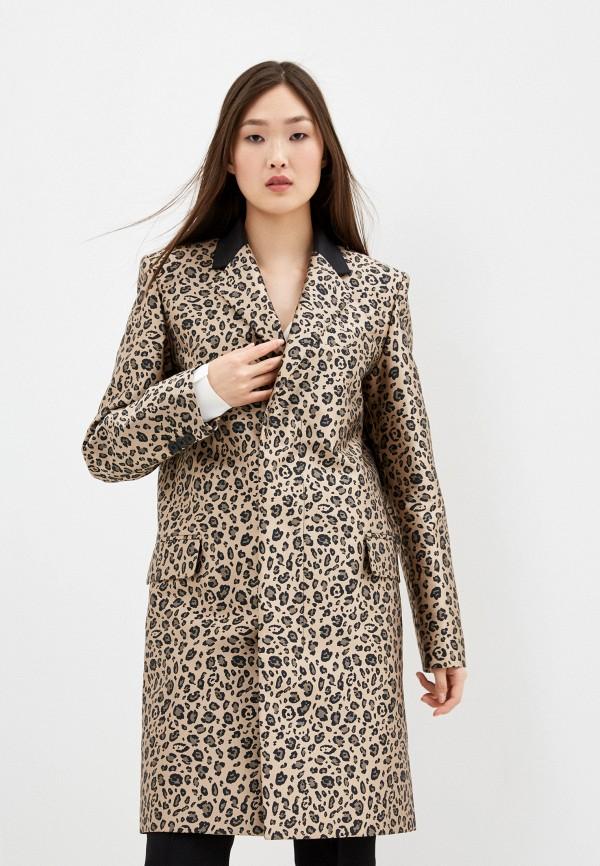 женское пальто barbara bui, бежевое