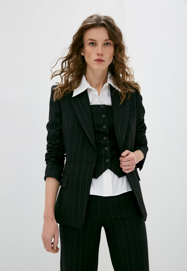 женский пиджак barbara bui, черный