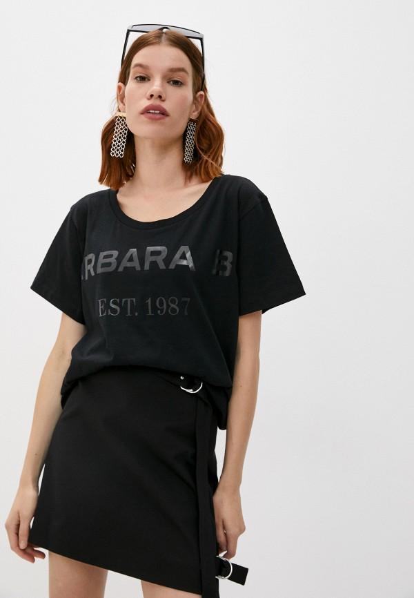 женская футболка barbara bui, черная