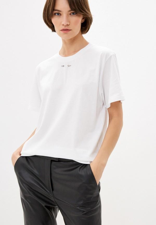 женская футболка barbara bui, белая