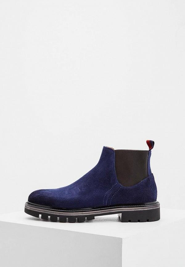 мужские ботинки barracuda, синие