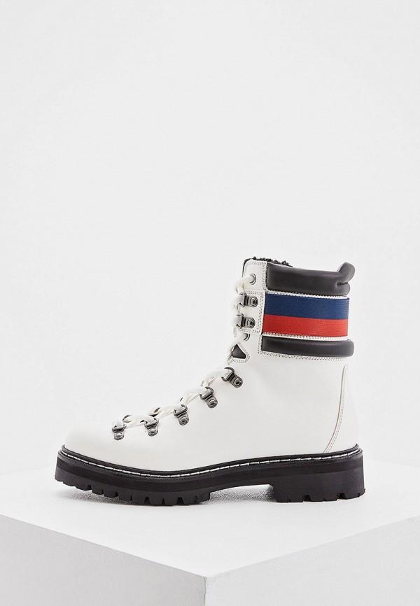 женские ботинки barracuda, белые