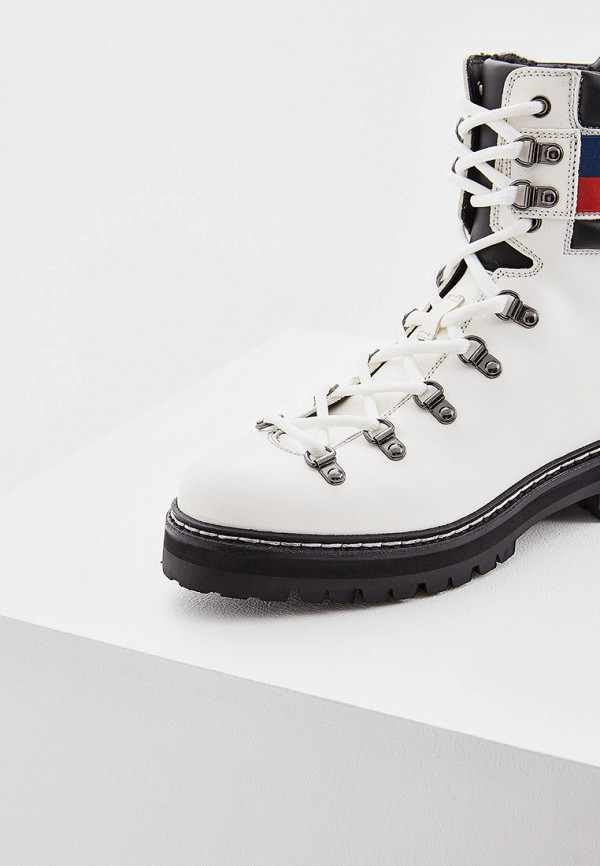Фото 2 - женские ботинки и полуботинки Barracuda белого цвета