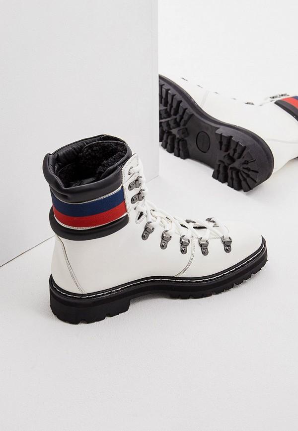Фото 5 - женские ботинки и полуботинки Barracuda белого цвета