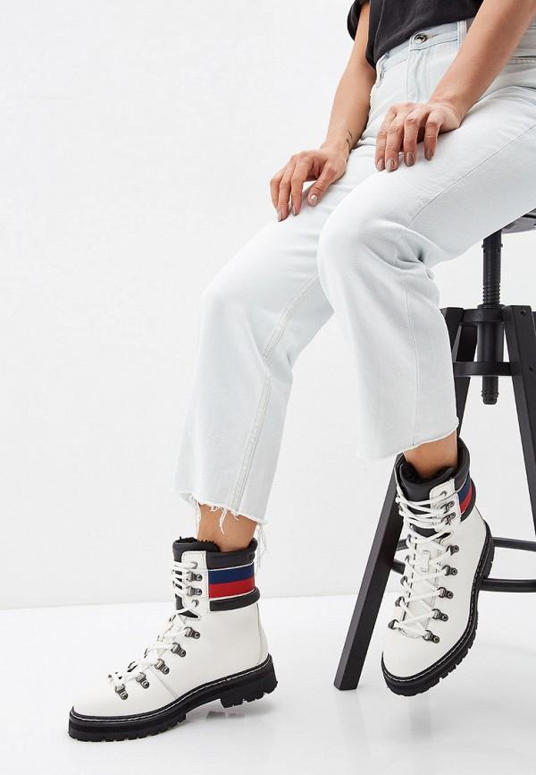 Фото 6 - женские ботинки и полуботинки Barracuda белого цвета