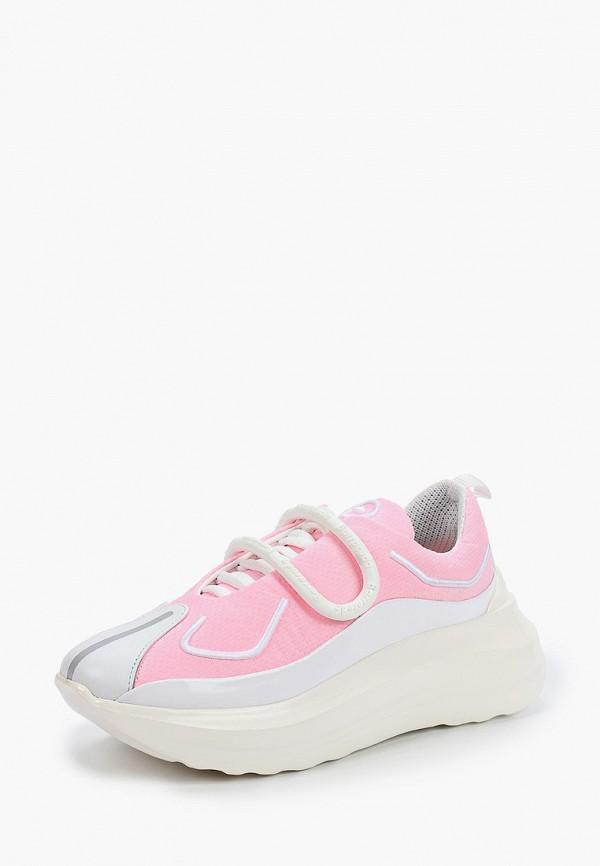 Фото 2 - Женские кроссовки Barracuda розового цвета