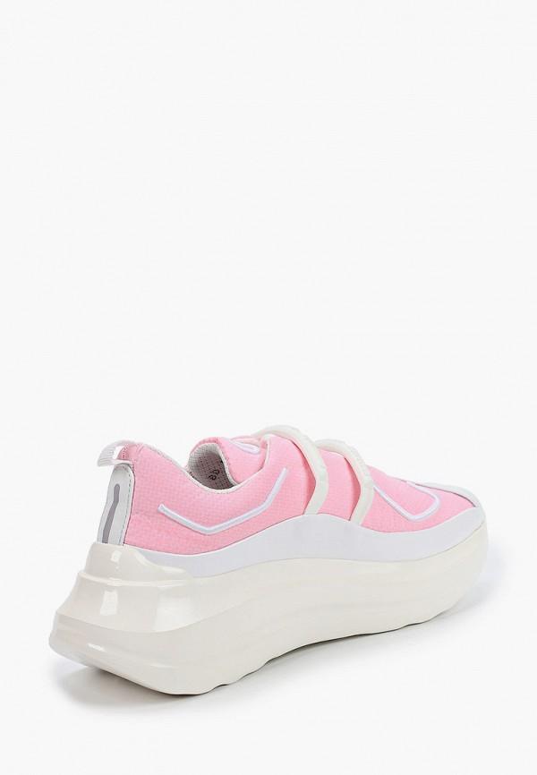 Фото 3 - Женские кроссовки Barracuda розового цвета