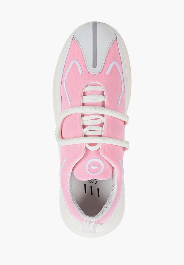 Фото 4 - Женские кроссовки Barracuda розового цвета