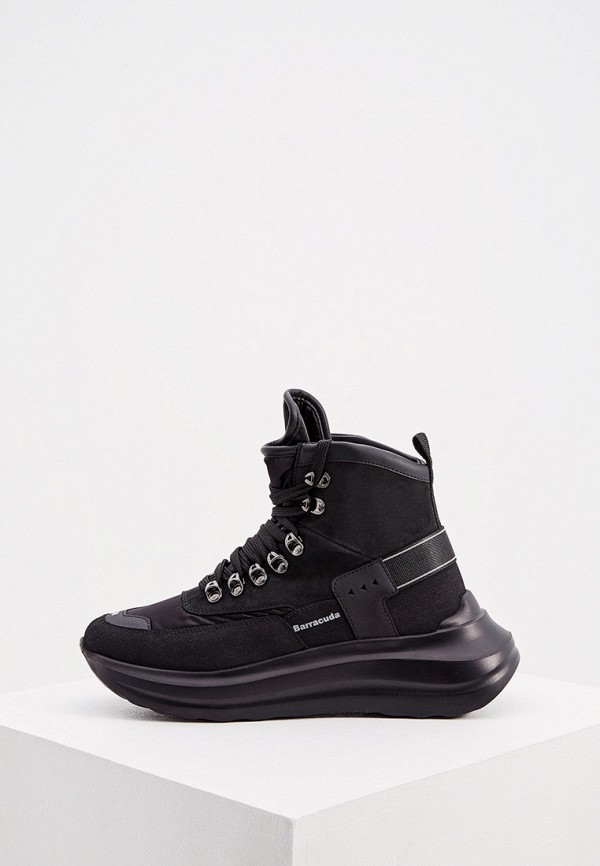 женские ботинки barracuda, черные