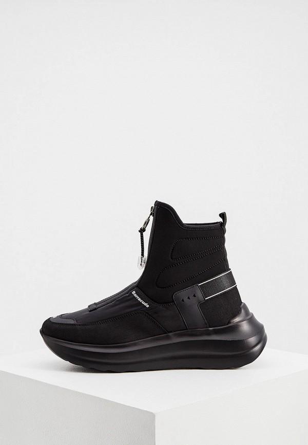 женские кроссовки barracuda, черные