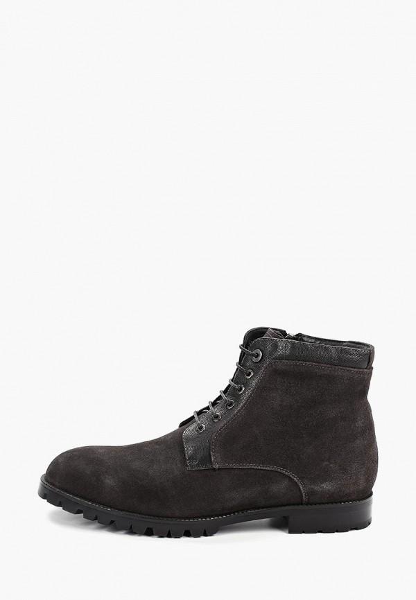 мужские ботинки basconi, серые
