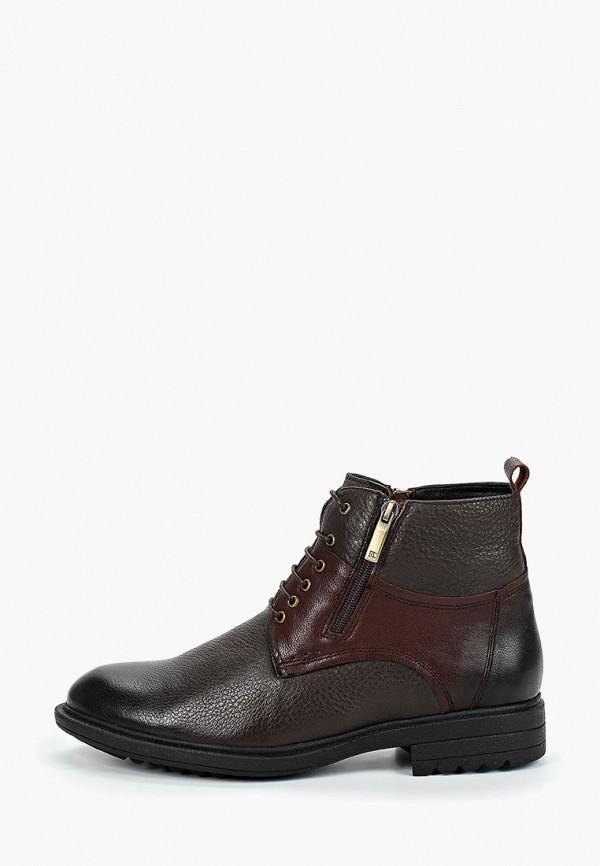 мужские ботинки basconi, коричневые