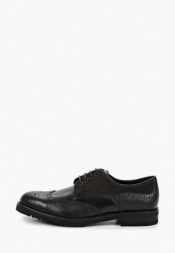 мужские туфли basconi, черные