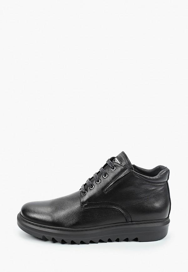 мужские низкие ботинки basconi, черные