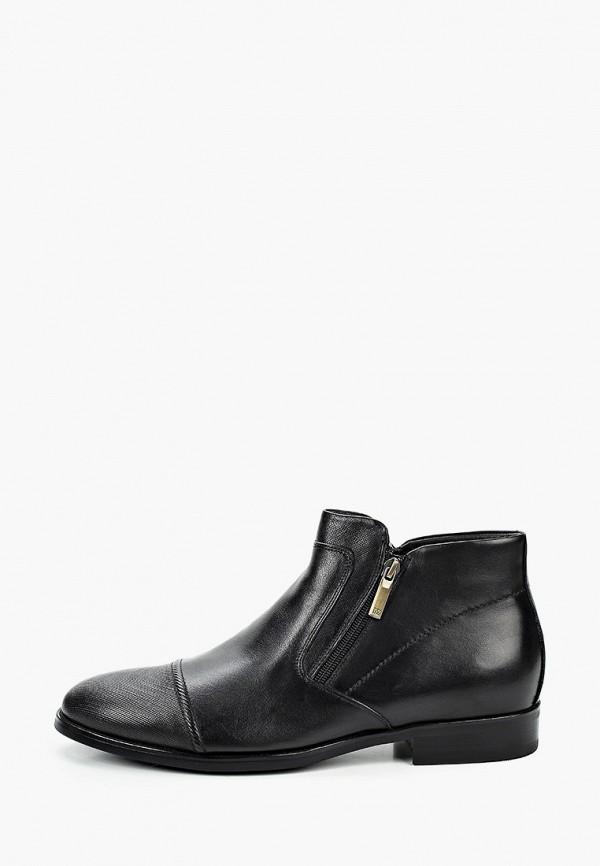 мужские высокие ботинки basconi, черные