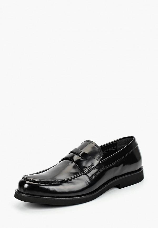 мужские лоферы bata, черные