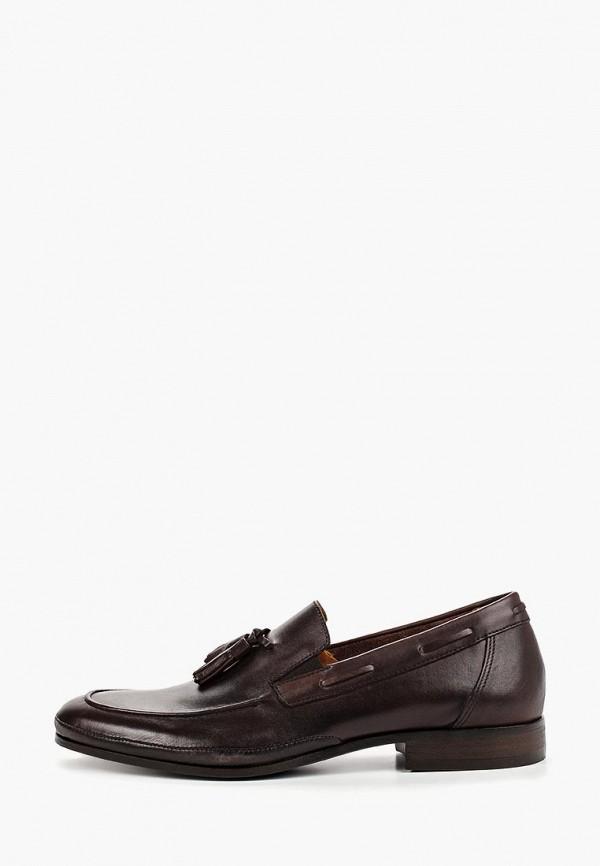 мужские лоферы bata, коричневые