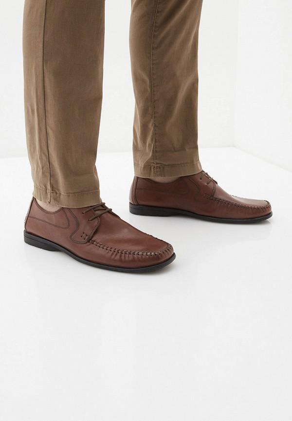 Фото 6 - мужские туфли Bata коричневого цвета