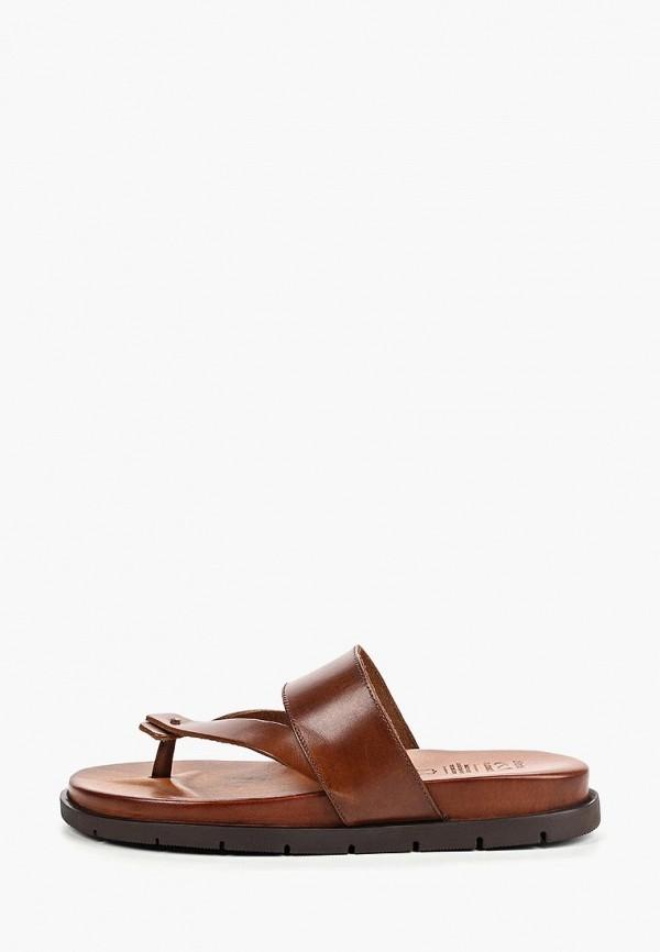 мужское сабо bata, коричневое