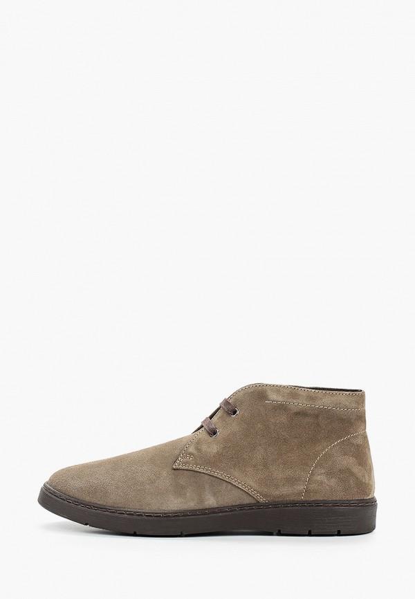 мужские ботинки bata, бежевые