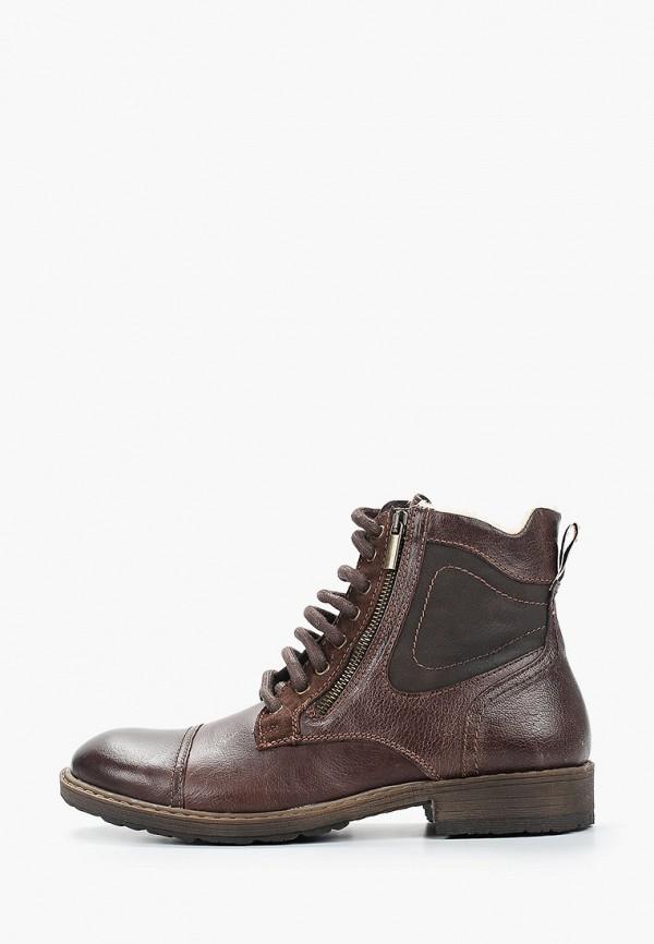 мужские высокие ботинки bata, коричневые