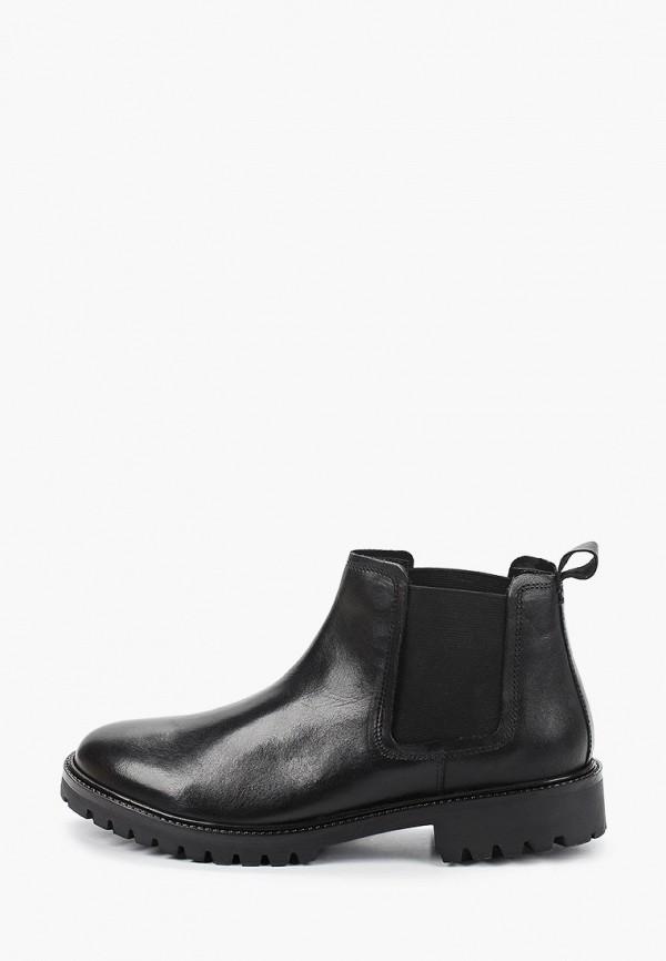мужские ботинки-челси bata, черные
