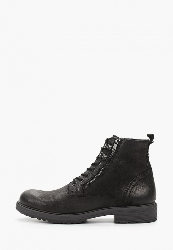 мужские высокие ботинки bata, черные