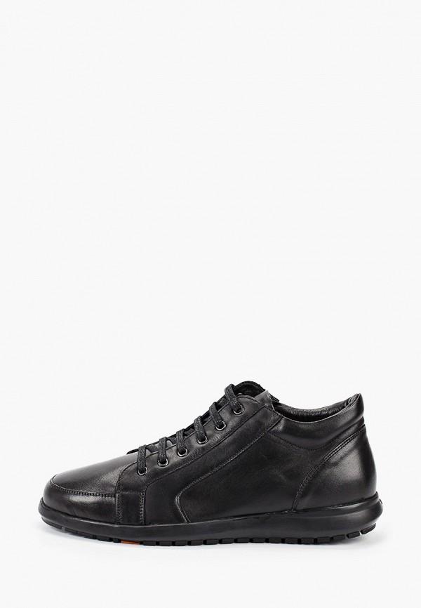 мужские высокие кроссовки bata, черные