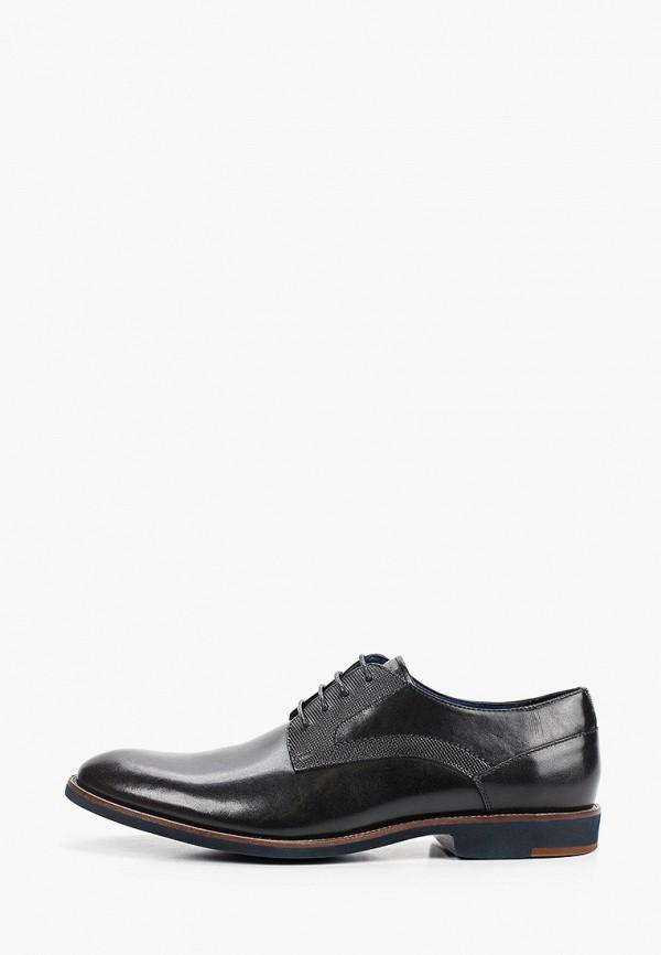 мужские туфли-дерби bata, черные
