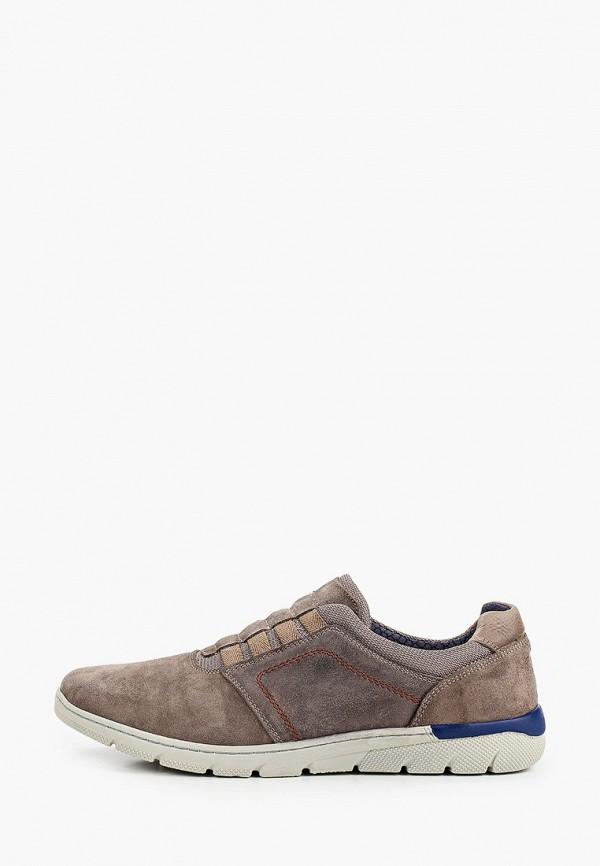 мужские низкие ботинки bata, коричневые