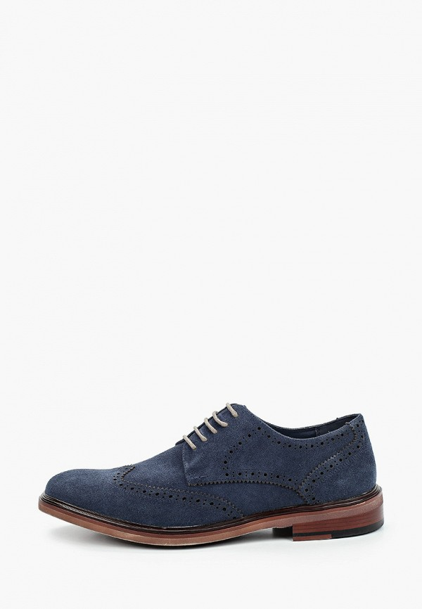 мужские туфли-дерби bata, синие