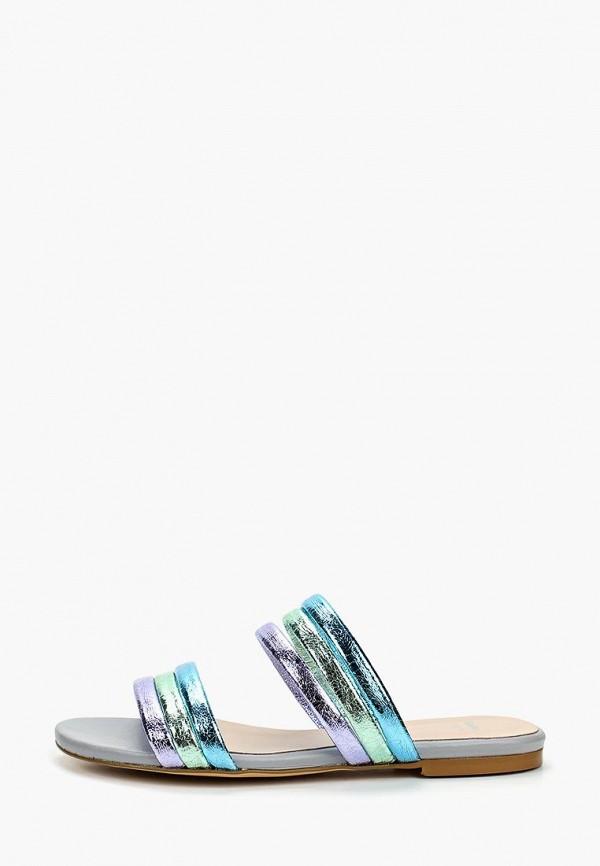 женское сабо bata, разноцветное