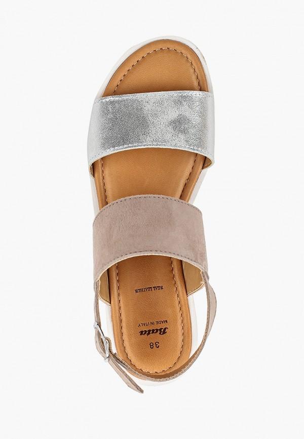 Фото 4 - женские сандали Bata розового цвета