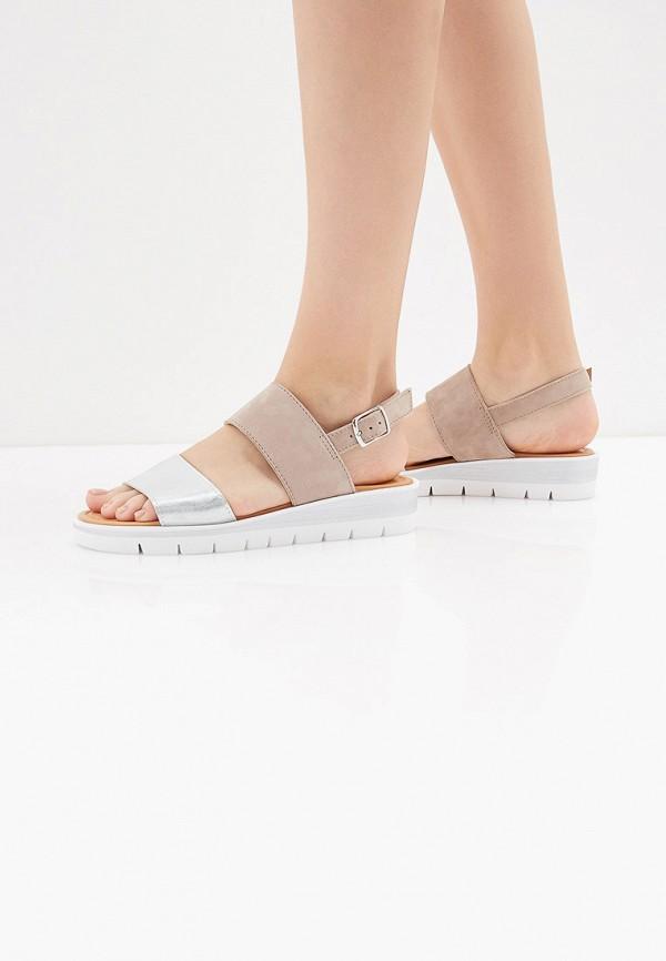 Фото 6 - женские сандали Bata розового цвета