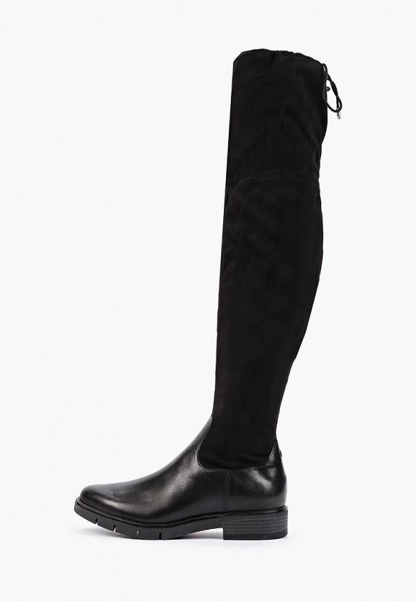 женские ботфорты bata, черные