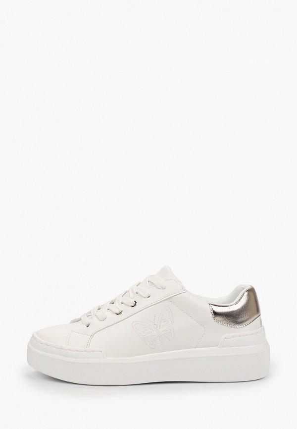 женские кроссовки bata, белые