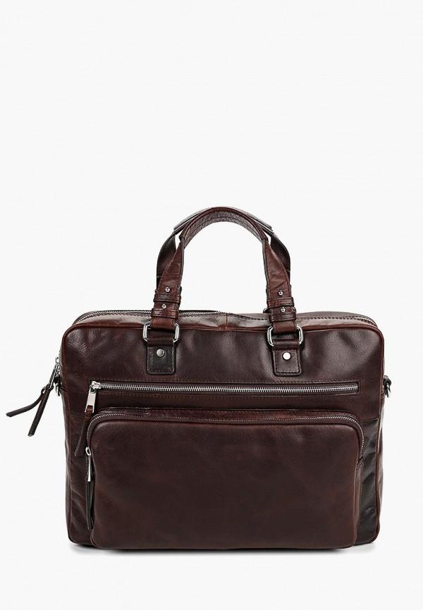 мужской портфель bata, коричневый