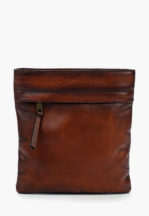 мужская сумка bata, коричневая