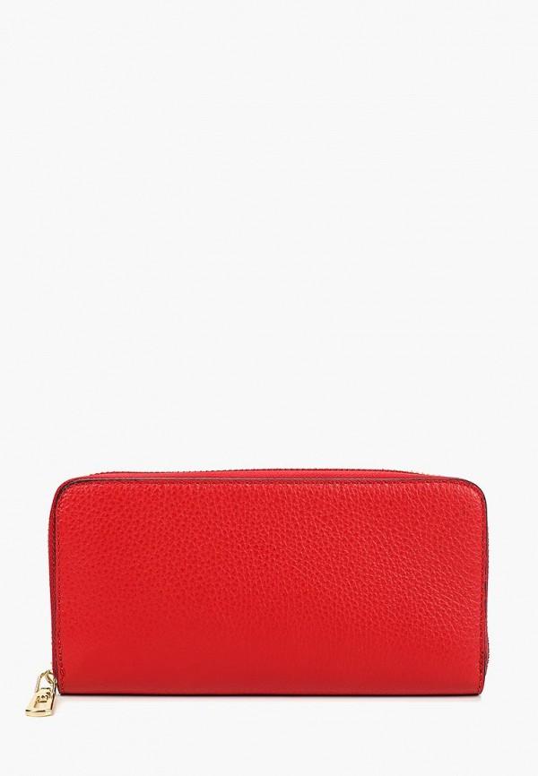 женский кошелёк bata, красный
