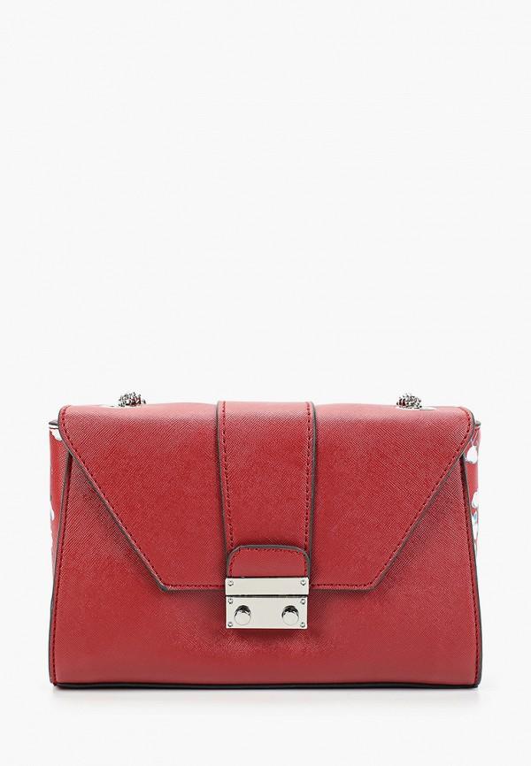 женская сумка bata, красная
