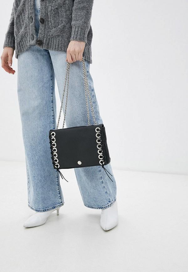 Фото 4 - женскую сумку Bata черного цвета