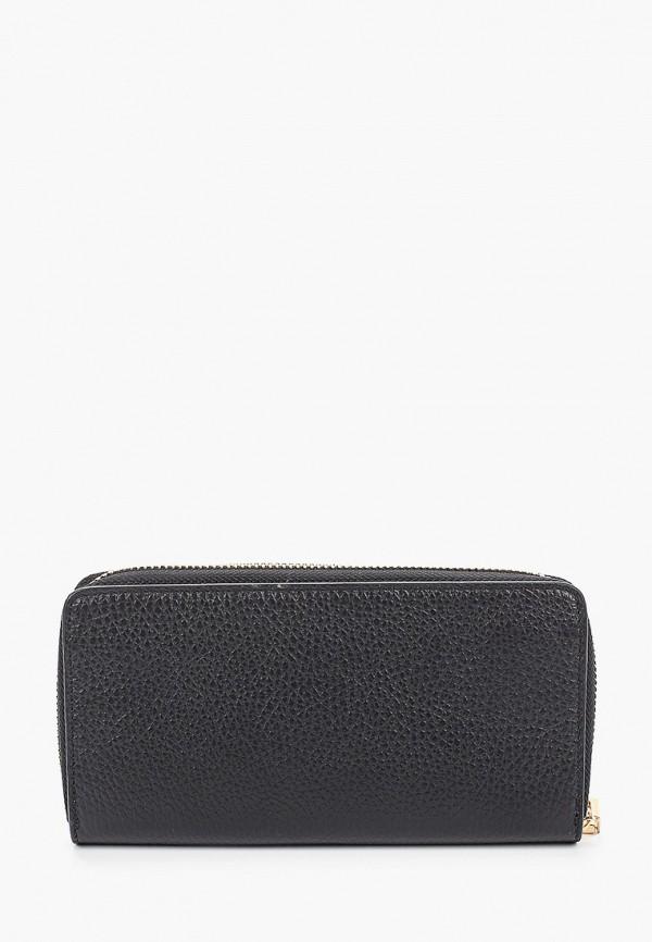 Фото 2 - женский кошелек или портмоне Bata черного цвета