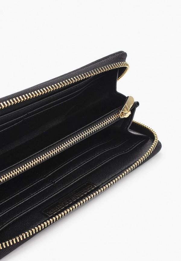 Фото 3 - женский кошелек или портмоне Bata черного цвета