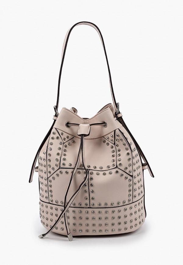 женская сумка bata, розовая
