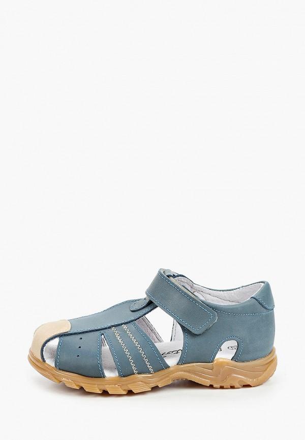 сандалии barritos для мальчика, голубые