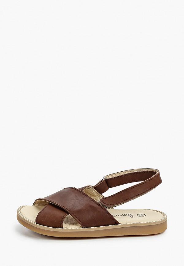сандалии barritos для мальчика, коричневые