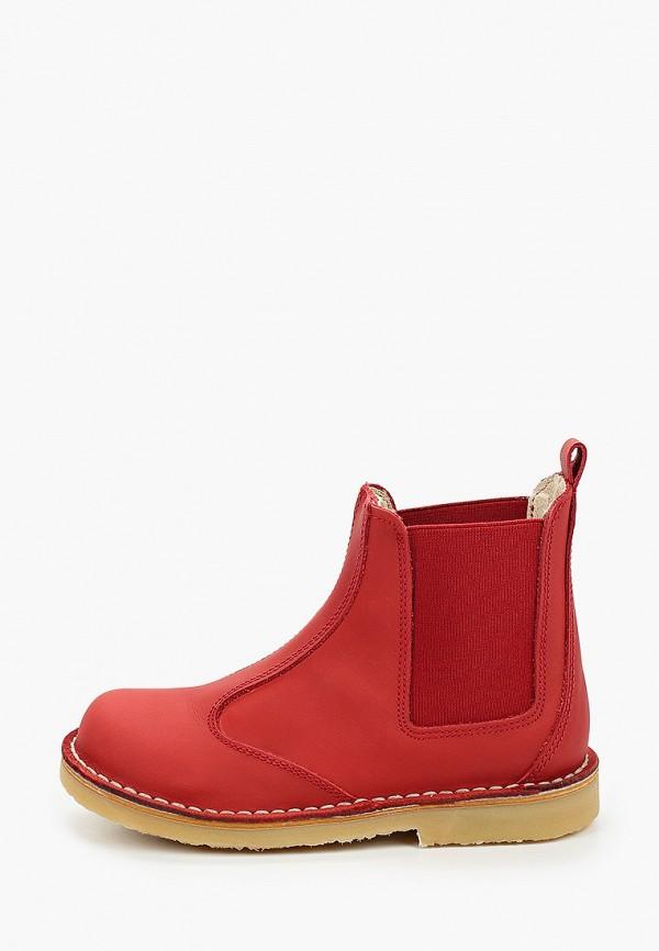 ботинки barritos для мальчика, красные