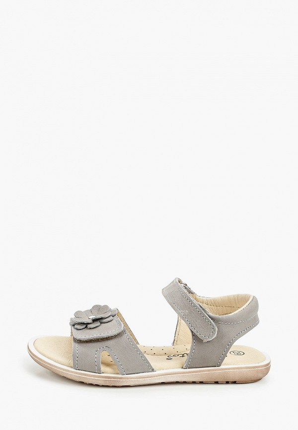 сандалии barritos для девочки, серые