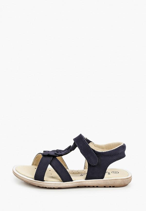 сандалии barritos для девочки, черные